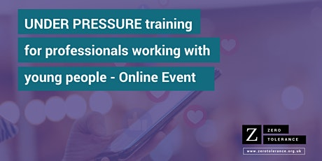 Under Pressure Training for Youth Workers: Online Event tickets