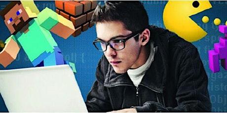 Videogame Coding 11-14 anni  - corso breve - in presenza - luglio 2021 biglietti