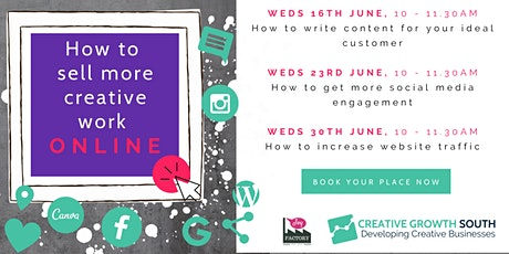 Workshop: How to get more social media engagement tickets