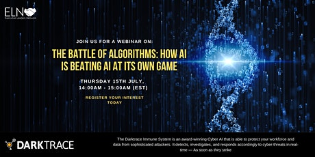 Webinar - The Battle of Algorithms: How AI is beating AI at its own game tickets