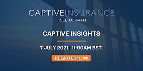 Captive Insights tickets