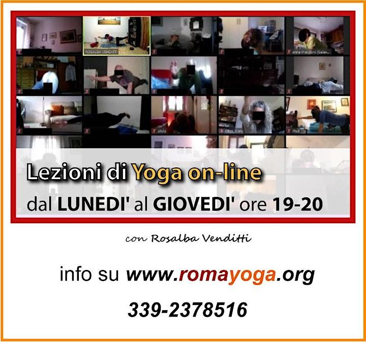 Immagine LEZIONI di YOGA alla CAFFARELLA - ogni lun-merc 19-20