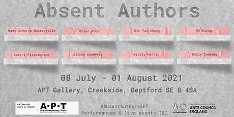 Absent Authors - Opening Event 1 tickets