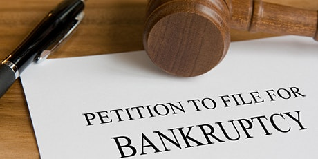 Bankruptcy - How Does it Work? Types and  Consequences - 3 HR CE Zoom tickets