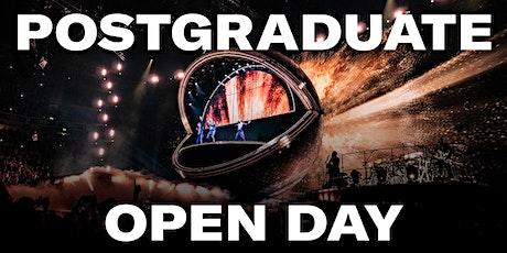 Backstage Academy Postgraduate Virtual Open Day tickets