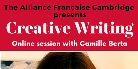 Creative Writing in French with Camille Berta tickets
