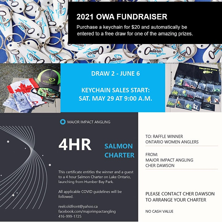 DRAW 2 - Ontario Women Anglers - 2021 Fundraiser image