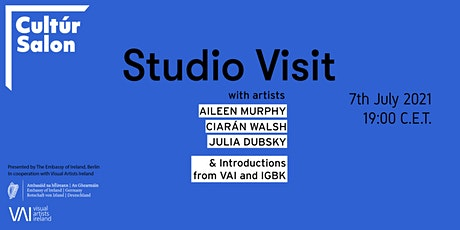 Cultúr Salon - Studio visit with Berlin artists in cooperation with VAI tickets