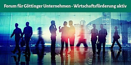 10. Forum für Göttinger Unternehmen Tickets