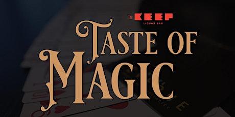 A Taste of Magic tickets