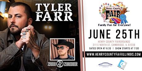 Tyler Farr with Zach Zurcher tickets