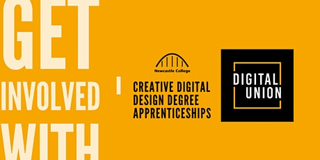 Get Involved With... Creative Digital Design Degree Apprenticeships tickets