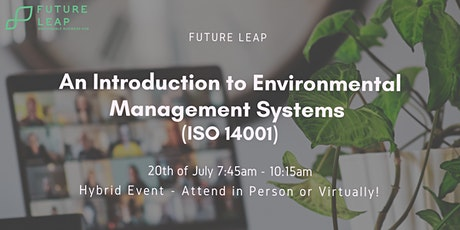 An Introduction to Environmental Management Systems (ISO 14001) tickets