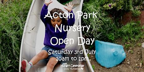 Acton Park Nursery Open Day tickets