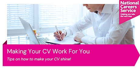 Making Your CV Work For You tickets