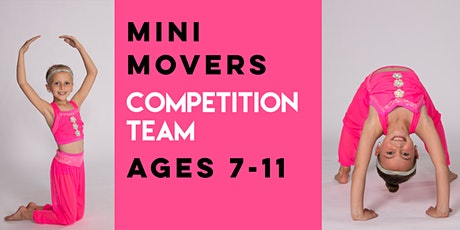 2021-2022 Mini Movers Competition Team Audition tickets