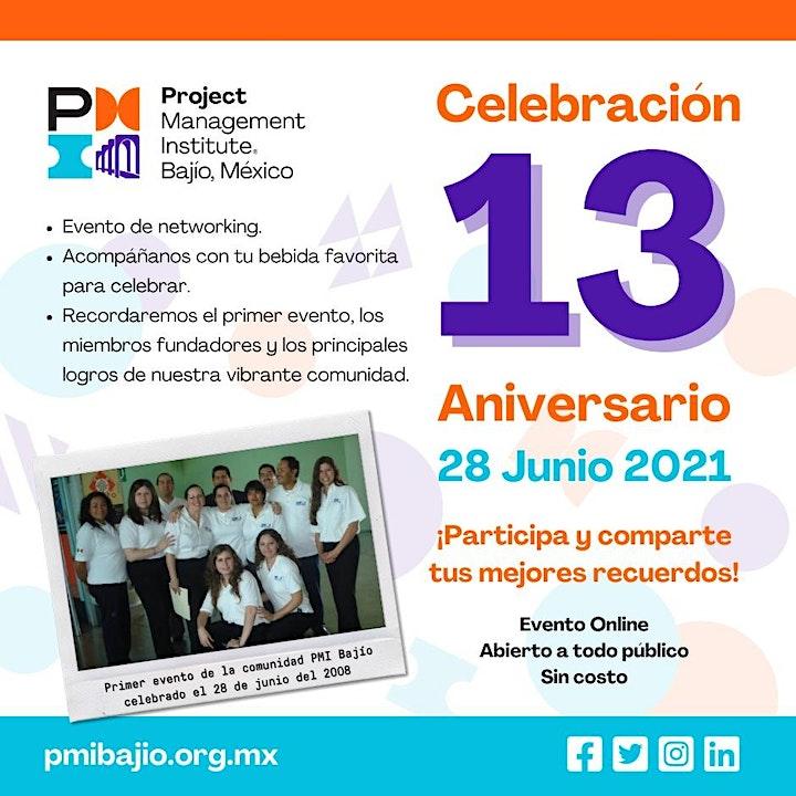Imagen de Celebración 13 Aniversario - Capítulo PMI Bajío