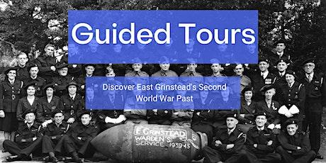 Guided Second World War Town Walk around East Grinstead tickets