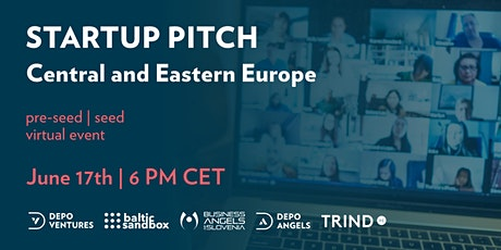 STARTUP PITCH | Central and Eastern Europe tickets