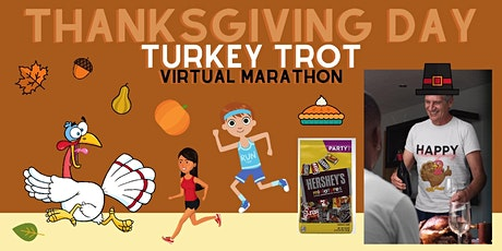 Thanksgiving Turkey Trot Virtual Marathon tickets