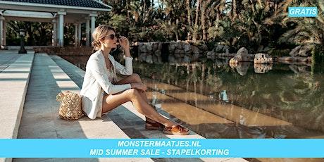 Monstermaatjes Toegangsticket za 12  juni 16.00 - 17.00 u  MID SUMMER SALE tickets