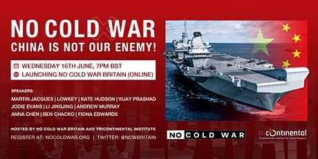 No Cold War – China is not our enemy! tickets