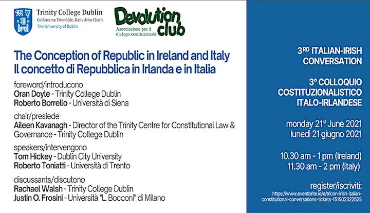 TriCON Irish-Italian Constitutional Conversations image