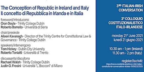 TriCON Irish-Italian Constitutional Conversations tickets