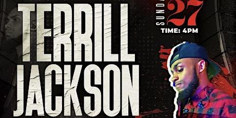 Appreciation program for Terrill Jackson featuring Special guest tickets