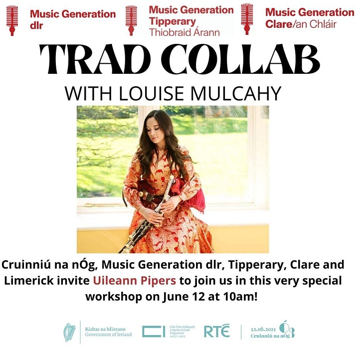 Trad Collab: Music Generation dlr, Tipperary and Clare with  Louise Mulcahy image