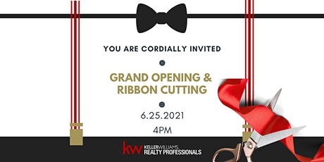 Grand Opening & Ribbon Cutting tickets