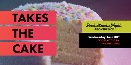 PechaKucha Night # 146 -Takes the Cake tickets
