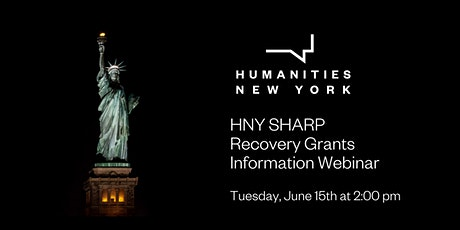 HNY SHARP Recovery Grants Information Webinar tickets