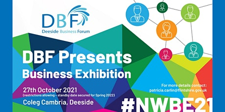 DBF North Wales Business Exhibition #NWBE21 tickets