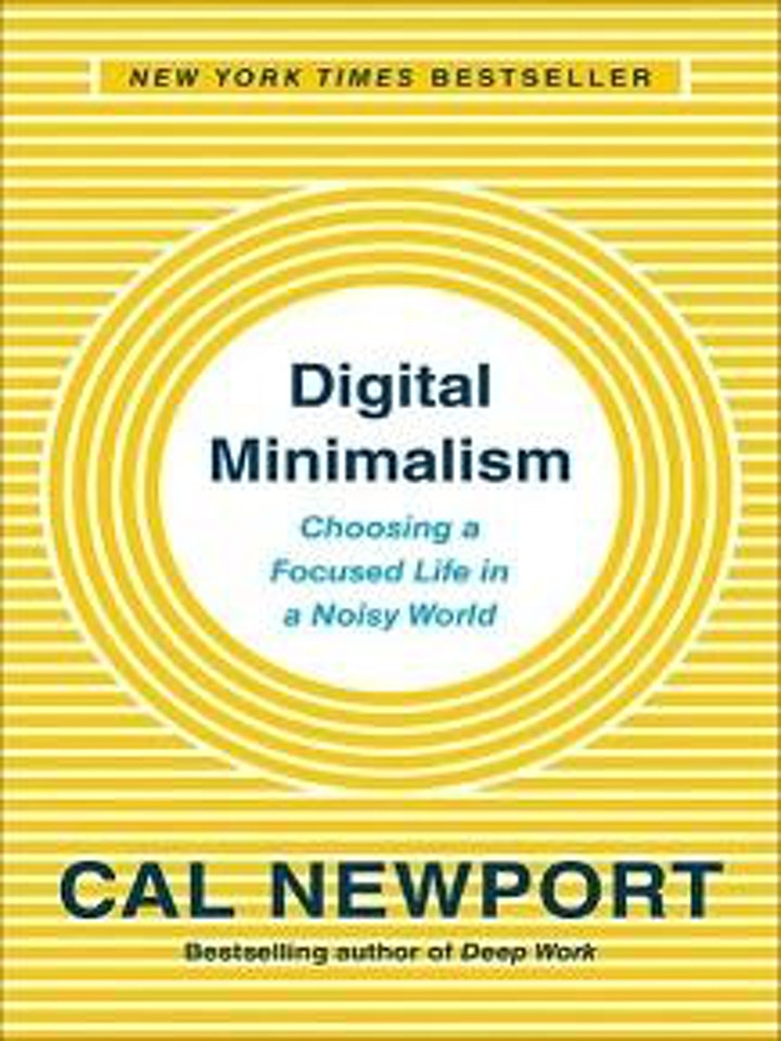 How to be a Digital Minimalist in a Digital Age | Read! Fest image