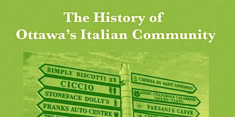 Beyond Bytown: The History of Ottawa's Italian Community billets