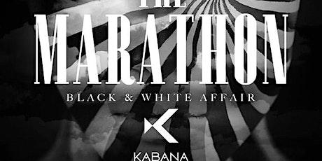 "The Marathon "" BLACK AND WHITE "" (Kabana RoofTop) at SUNSETSUNDAYS tickets"