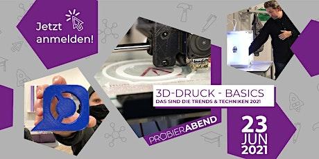Probierabend - 3D-Druck Tickets