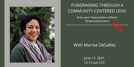 FUNDRAISING THROUGH A COMMUNITY-CENTERED LENS tickets