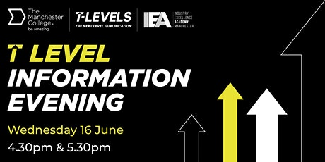 T Level Information Evening for Digital tickets
