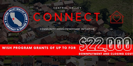 Central Valley CONNECT Community Homeownership Initiative tickets