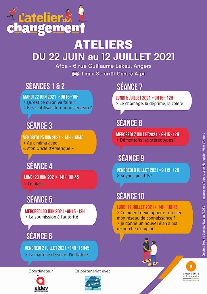 Image pour Information collective Atelier Du Changement - Aldev
