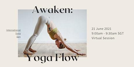 Awaken: Morning Yoga Flow tickets