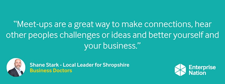 Online small business meet-up: Shropshire image