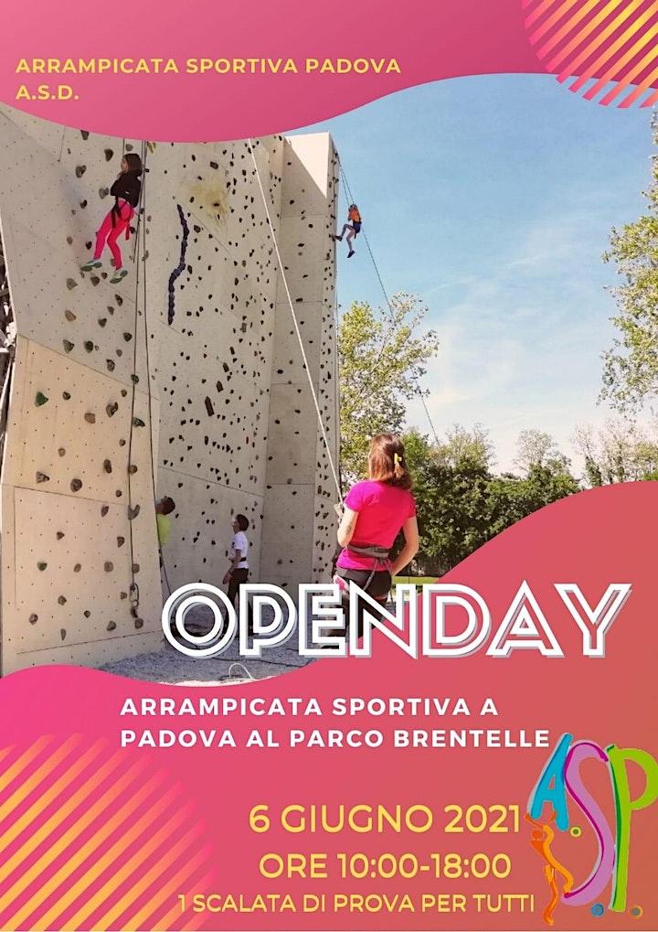 Immagine OpenDay Arrampicata Sportiva Padova A.S.D. al parco Brentelle