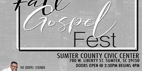 Fall Gospel Fest tickets