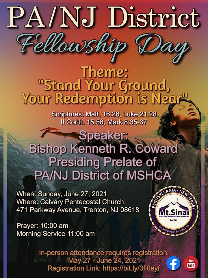 PA / NJ District Fellowship Day image