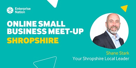 Online small business meet-up: Shropshire tickets