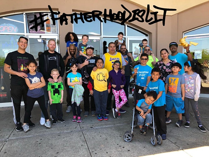 #ArtOfFatherhood Father's Day edition with Pokemon image
