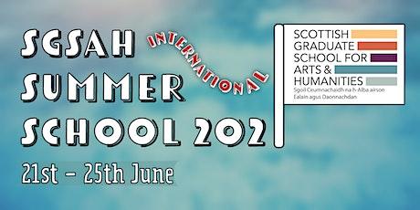 SGSAH International Summer School 2021 tickets